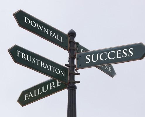 Route naar succes