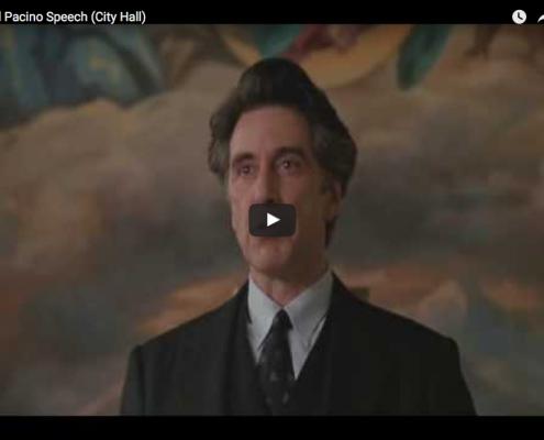 Al Pacino Speech (City Hall)