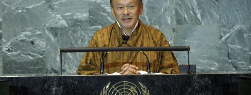 voormalig premier van Bhutan